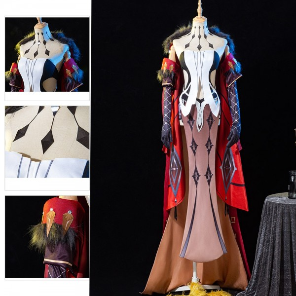 Genshin Impact Cosplay Costumes Signora Costume Dressing Up Suits