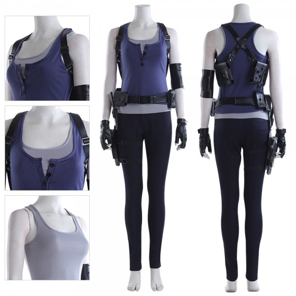 Jill Valentine Cosplay Costumes Resident Evil 3 Remake Cosplay