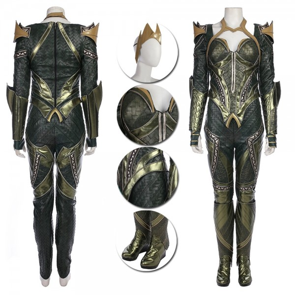 Mera Cosplay Costume Justice League Deluxe Costumes xzw1800134