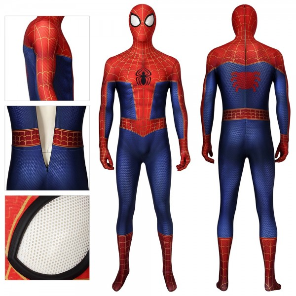 Peter Parker Cosplay Costumes The Spider Verse Suit
