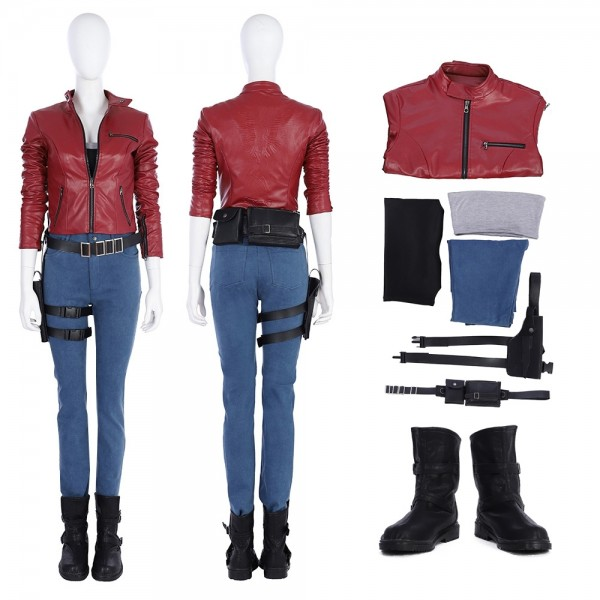 Claire Redfield Cosplay Costume Resident Evil 2 Remake Costumes