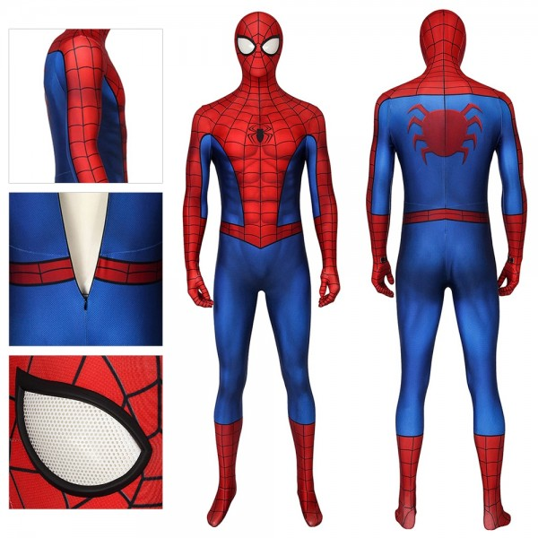 Spider-man PS4 Game Cosplay Costumes Spandex Suit