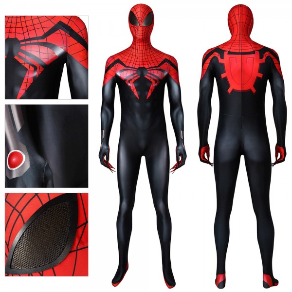 Superior Spiderman Ver.2 Cosplay Costume Ripstop Polyester Suits