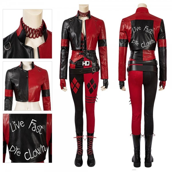 The 2021 Harley Quinn Cosplay Costumes The Suicide Squad 2 Dress Up Suit