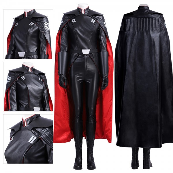 The Second Sister Costumes Star Wars Fallen Order Inquisitor Cosplay Suit