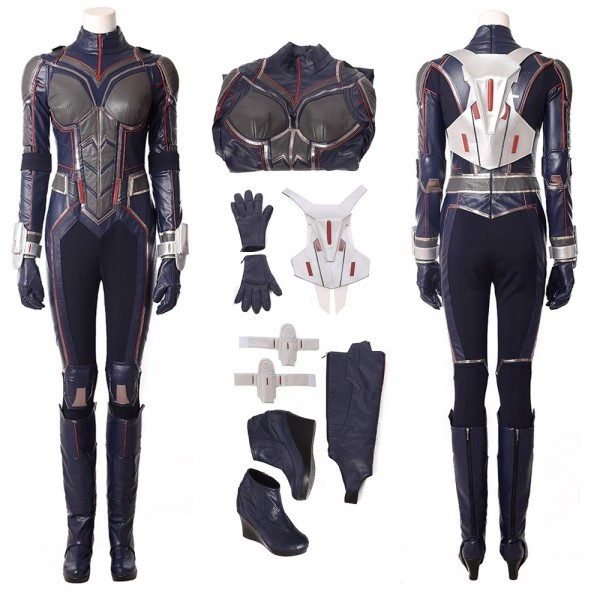 The Wasp Cosplay Costume Suits Ant-Man 2 Hope van Dyne Costumes