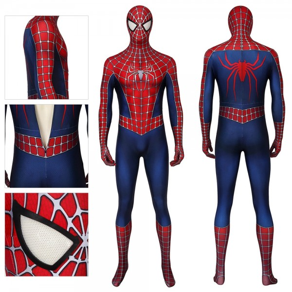 Tobey Maguire Cosplay Costume Spider-man 2 Suit