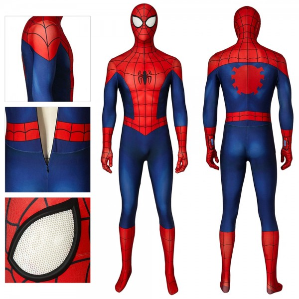 Ultimate Spider-Man Cosplay Suit Spiderman Classic Costume