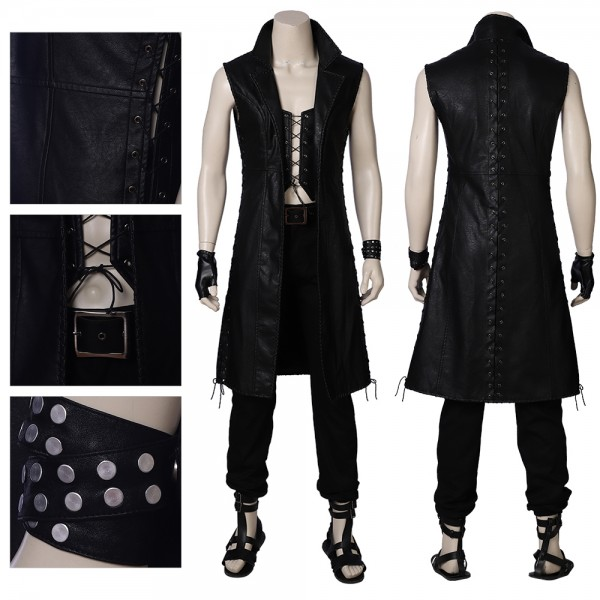 V Mysterious Man Cosplay Costume Devil May Cry 5 Cosplay Suit